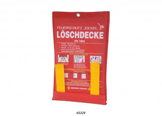 Löschdecke – zugelassen für Fettbrände bis zu 3 Liter.
