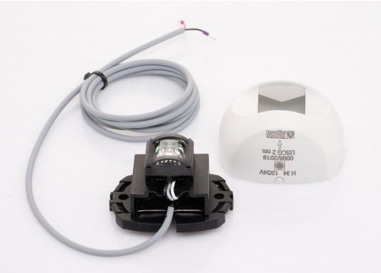 Attraktives Design, neuester technologischer Stand - die LED Serie 34. Absolut wartungsfrei, seewasserfest, UV-geschützt. Sehr geringer Energieverbrauch. (Bild 6 von 7)