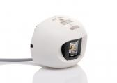 LED Hecklaterne Serie 34 / weißes Gehäuse