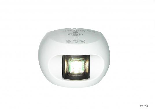 Attraktives Design, neuester technologischer Stand - die LED Serie 34. Absolut wartungsfrei, seewasserfest, UV-geschützt. Sehr geringer Energieverbrauch. (Bild 9 von 10)