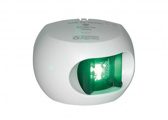 Attraktives Design, neuester technologischer Stand - die LED Serie 34. Absolut wartungsfrei, seewasserfest, UV-geschützt. Sehr geringer Energieverbrauch. (Bild 7 von 10)
