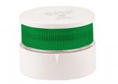 LED-Signallaterne grün Serie 34 / weißes Gehäuse