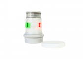 Image of LED Tricolour Anchor Light with Quicfit-System Series 34 / White Housing