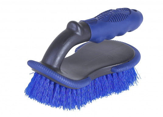 Hand brush Shurhold with comfort grip handle. Ideal for cleaning rails and teakdecks. (Imagen 3 de 4)