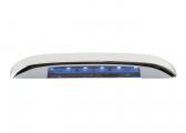 LED Stufenleuchte BARTEGO, blau / nach unten strahlend