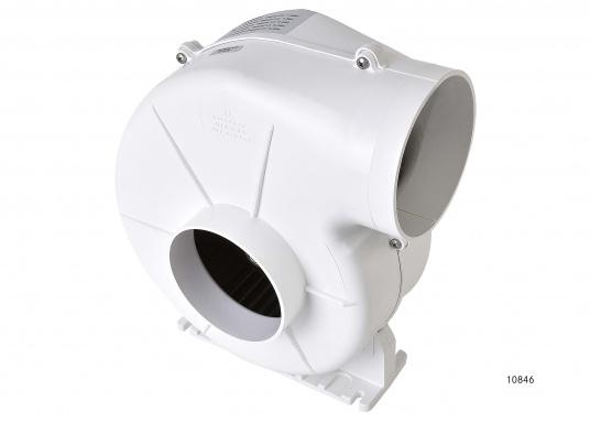 Dieser leistungsstarke Elektrolüfter ist besonders gut für Pantry, WC und Motorraum geeignet.