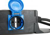 CEE Plug to 2x CEE 1x Schuko / Triple Combination
