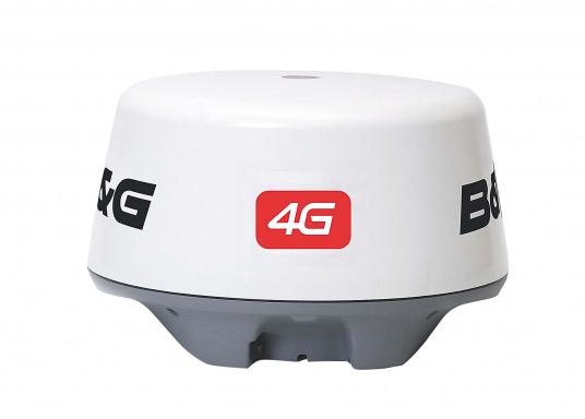 Das Broadband 4G™ Radar bietet ein kristallklares Bild von Ihrem Schiffsbug. Diese Solid-State-Technologie mit geringem Stromverbrauch bietet konkurrenzlose Zielerkennung und -unterscheidung im Nahbereich wobei InstandOn™ keine Aufwärmzeit benötigt.