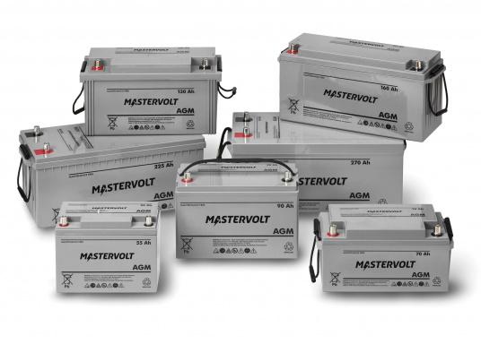 Nelle batterie AGM, la maggior parte dell'elettrolita (miscela di acqua e acido solforico) è assorbitodallafibra di vetro. Questo tipo di batteria non necessitamanutenzione e non si forma gas durante il normale utilizzo. Poiché non è necessaria la ventilazione, questa batteria può essere installata ovunque.