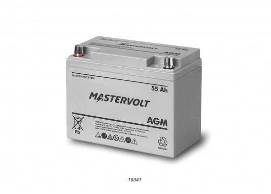 In AGM batteries, the electrolyte (mixture of water and sulphuric acid) is largely absorbed in glass fibre. This type of battery is entirely maintenance-free and there is no gas formation with normal use. This battery does not requireany ventilation, these batteries can be installed anywhere.  (Image 2 of 9)