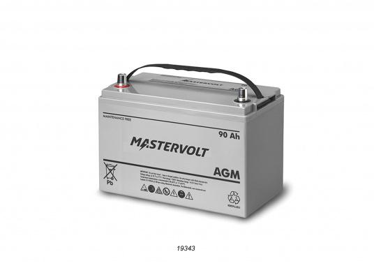 In AGM batteries, the electrolyte (mixture of water and sulphuric acid) is largely absorbed in glass fibre. This type of battery is entirely maintenance-free and there is no gas formation with normal use. This battery does not requireany ventilation, these batteries can be installed anywhere.  (Image 4 of 9)