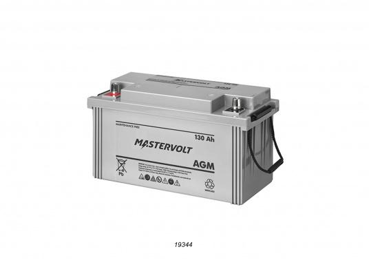 In AGM batteries, the electrolyte (mixture of water and sulphuric acid) is largely absorbed in glass fibre. This type of battery is entirely maintenance-free and there is no gas formation with normal use. This battery does not requireany ventilation, these batteries can be installed anywhere.  (Image 5 of 9)