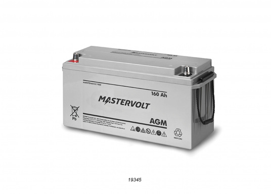 In AGM batteries, the electrolyte (mixture of water and sulphuric acid) is largely absorbed in glass fibre. This type of battery is entirely maintenance-free and there is no gas formation with normal use. This battery does not requireany ventilation, these batteries can be installed anywhere.  (Image 6 of 9)