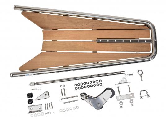 Die neue Bugplattform PB120 erlaubt eine Kombination aus der neu entwickelten Kassettleiter BKT73A und einem 20 kg Anker.  (Bild 6 von 8)