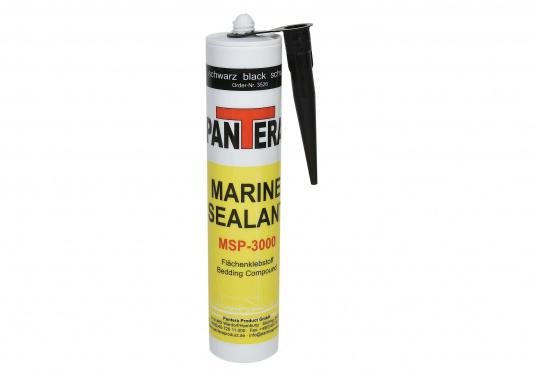 Marine Sealant MSP-3000 V2 wurde speziell entwickelt als ein silikonfreier, dauerhafter, elastischer und dehnbarer Flächenklebstoff für schwimmend verlegte Decks.