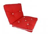 Image of Kapok Double Cushion / red
