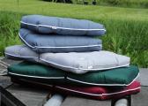 Cuscino da barca Kapok doppio / antracite