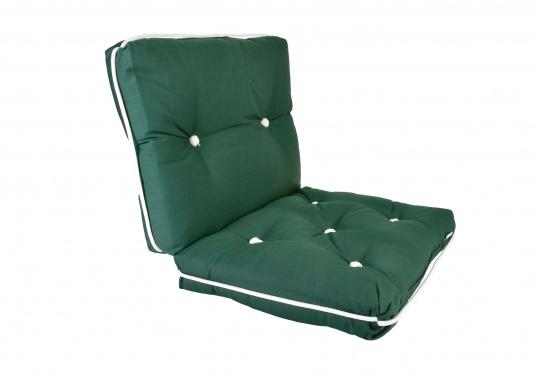 Floating seat cushion with kapok fiber filling. Cover 100% cotton.