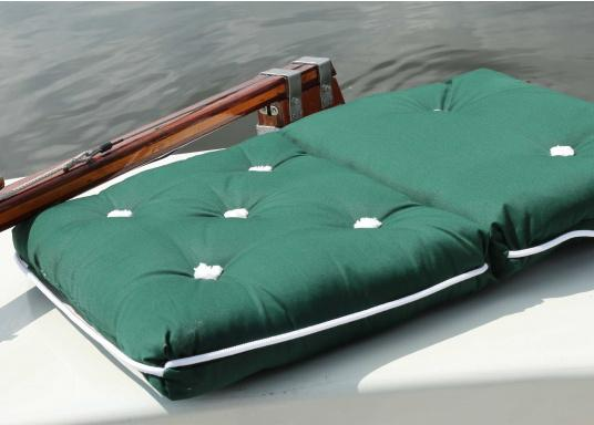 Floating seat cushion with kapok fiber filling. Cover 100% cotton.    (Image 2 of 3)