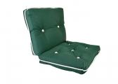 Image of Kapok Double Cushion / dark green
