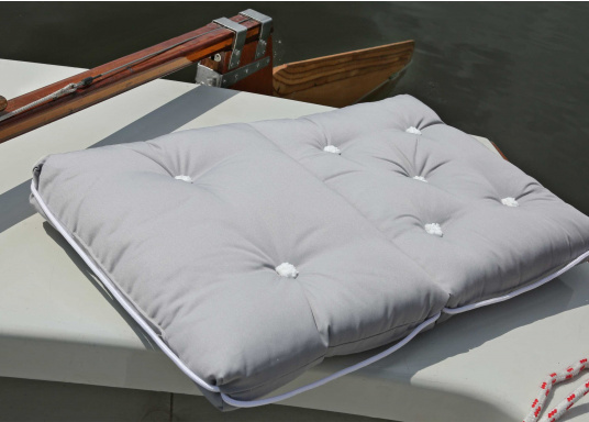 Schwimmfähige Sitzkissen mit echter Kapok-Naturfaser-Füllung. Bezug 100% Baumwolle.  (Bild 2 von 4)