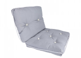 Image of Kapok Double Cushion / light grey