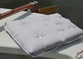Cuscino doppio da barca Kapok / grigio chiaro