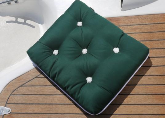 Schwimmfähige Sitzkissen mit echter Kapok-Naturfaser-Füllung. Bezug 100% Baumwolle. (Bild 2 von 5)
