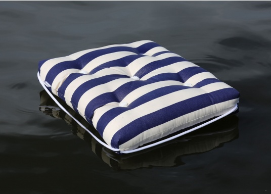 Floating seat cushion with kapok fiber filling. Cover 100% cotton. (Image 3 of 6)