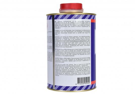 Farbverdünner für die meisten 1-K Grundierungen, Farben und Lacke.  (Bild 2 von 2)