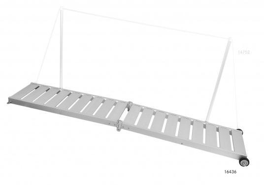 Questa passerella in alluminio non è solo bella, ma anche estremamente innovativa e pratica.  (Immagine 2 di 9)