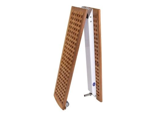 Diese Holz-Gangway ist nicht nur schön, sondern auch außerordentlich innovativ und praktisch.