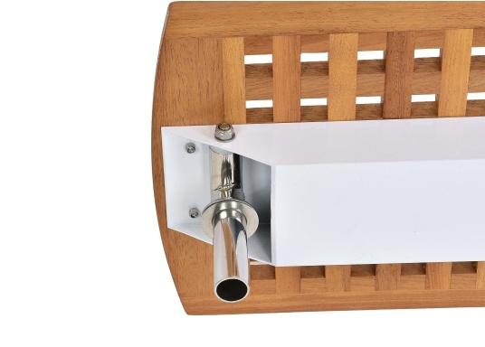 Diese Holz-Gangway ist nicht nur schön, sondern auch außerordentlich innovativ und praktisch.  (Bild 4 von 6)