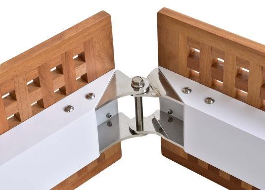 Diese Holz-Gangway ist nicht nur schön, sondern auch außerordentlich innovativ und praktisch.  (Bild 5 von 6)