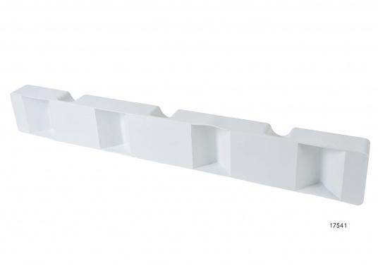 Ideale Fender für Anlege- und Schwimmstege in Weiß. Gewinkelte Ausführung, für das Abpolstern von Ecken.  (Bild 6 von 6)