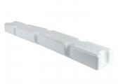 Parabordo per pontile / angolare / 1000 x 120 x 70 mm