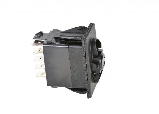 Der Spezialschalter kann für ROCA Wischermotoren Typ W38 eingesetzt werden und ermöglicht die Funktionen: AUS (Parkposition) / Motor Standard-Geschwindigkeit / Motor Schnell-Lauf. (Bild 2 von 3)