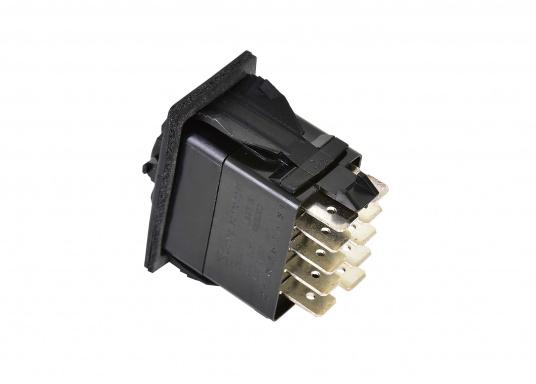 Der Spezialschalter kann für ROCA Wischermotoren Typ W38 eingesetzt werden und ermöglicht die Funktionen: AUS (Parkposition) / Motor Standard-Geschwindigkeit / Motor Schnell-Lauf. (Bild 3 von 3)