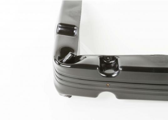 Ideale Fender für Anlege- und Schwimmstege in Schwarz. Gewinkelte Ausführung, für das Abpolstern von Ecken.  (Bild 4 von 4)