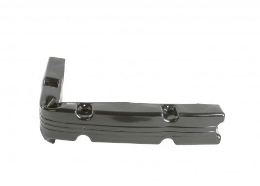 Ideale Fender für Anlege- und Schwimmstege in Schwarz. Gewinkelte Ausführung, für das Abpolstern von Ecken.