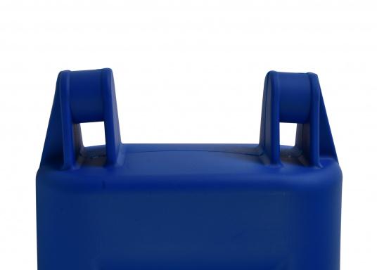Clevere Kombinations-Lösung für den Hafen! Die Fenderleiter schützt die Bordwand und erleichtert den Einstieg in Ihr Boot, besonders geeignet bei hochbordigen Yachten. (Bild 2 von 4)