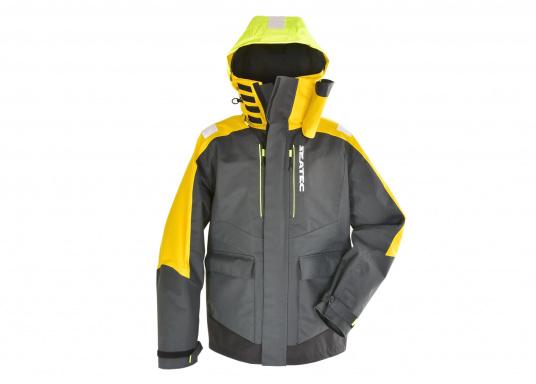 Hochfunktionale, strapazierfähige und komfortable Wetter- und Wassersportbekleidung, zu 100% wasser- und winddicht und besonders atmungsaktiv. Einsatzgebiet: Ideal für den Offshore-Einsatz geeignet.  (Bild 2 von 13)