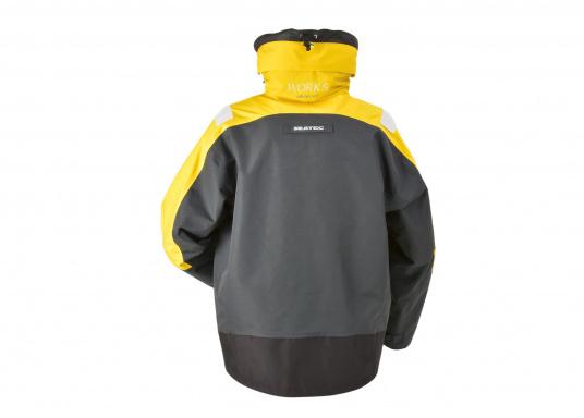 Hochfunktionale, strapazierfähige und komfortable Wetter- und Wassersportbekleidung, zu 100% wasser- und winddicht und besonders atmungsaktiv. Einsatzgebiet: Ideal für den Offshore-Einsatz geeignet.  (Bild 4 von 13)