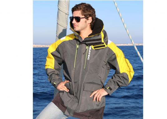 Hochfunktionale, strapazierfähige und komfortable Wetter- und Wassersportbekleidung, zu 100% wasser- und winddicht und besonders atmungsaktiv. Einsatzgebiet: Ideal für den Offshore-Einsatz geeignet.  (Bild 10 von 13)