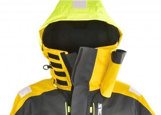 Hochfunktionale, strapazierfähige und komfortable Wetter- und Wassersportbekleidung, zu 100% wasser- und winddicht und besonders atmungsaktiv. Einsatzgebiet: Ideal für den Offshore-Einsatz geeignet.  (Bild 12 von 13)