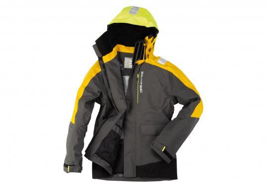 Hochfunktionale, strapazierfähige und komfortable Wetter- und Wassersportbekleidung, zu 100% wasser- und winddicht und besonders atmungsaktiv. Einsatzgebiet: Ideal für den Offshore-Einsatz geeignet.  (Bild 6 von 13)