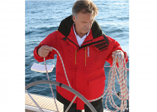 Hochfunktionale, strapazierfähige und komfortable Wetter- und Wassersportbekleidung, zu 100% wasser- und winddicht und besonders atmungsaktiv. Einsatzgebiet: Ideal für den Offshore-Einsatz geeignet.  (Bild 6 von 14)