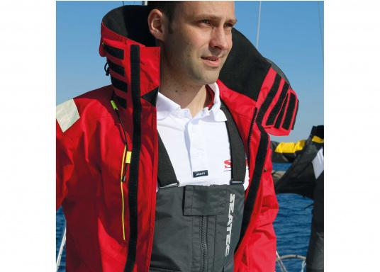 Hochfunktionale, strapazierfähige und komfortable Wetter- und Wassersportbekleidung, zu 100% wasser- und winddicht und besonders atmungsaktiv. Einsatzgebiet: Ideal für den Offshore-Einsatz geeignet.  (Bild 8 von 14)
