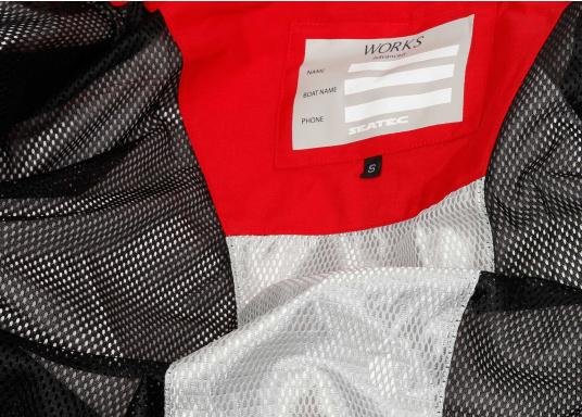 Hochfunktionale, strapazierfähige und komfortable Wetter- und Wassersportbekleidung, zu 100% wasser- und winddicht und besonders atmungsaktiv. Einsatzgebiet: Ideal für den Offshore-Einsatz geeignet.  (Bild 10 von 14)