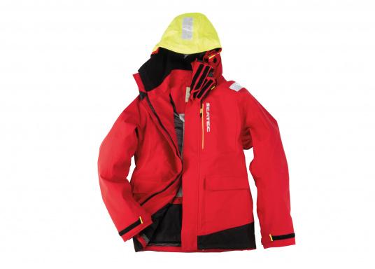 Hochfunktionale, strapazierfähige und komfortable Wetter- und Wassersportbekleidung, zu 100% wasser- und winddicht und besonders atmungsaktiv. Einsatzgebiet: Ideal für den Offshore-Einsatz geeignet.  (Bild 3 von 14)